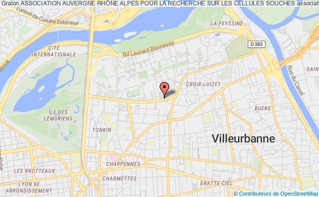 plan association Association Auvergne RhÔne Alpes Pour La Recherche Sur Les Cellules Souches