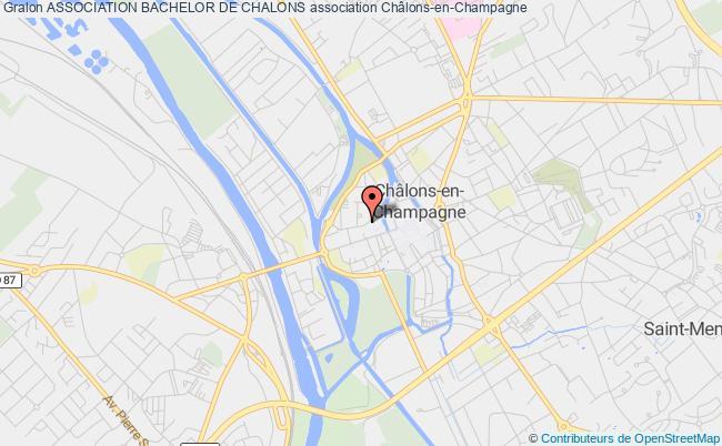 plan association Association Bachelor De Chalons