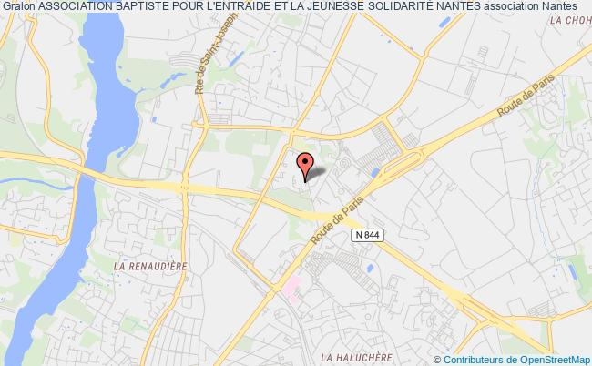 plan association Association Baptiste Pour L'entraide Et La Jeunesse SolidaritÉ Nantes