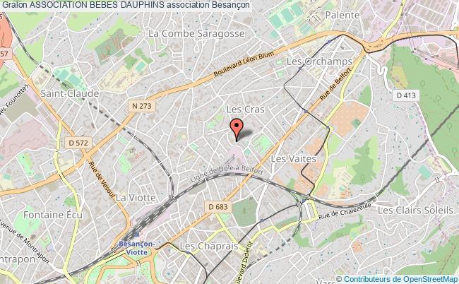 plan association Association Bebes Dauphins Besançon