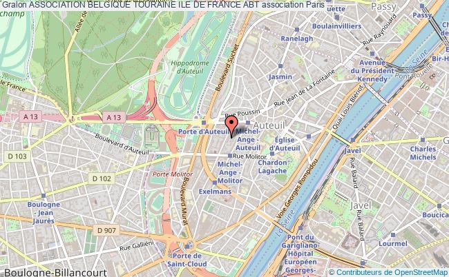 plan association Association Belgique Touraine Ile De France Abt