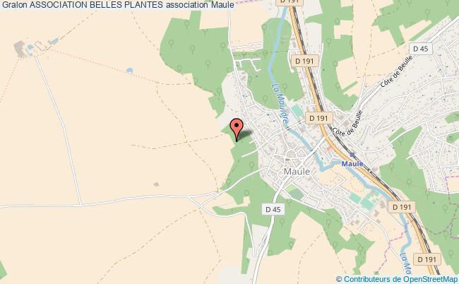 plan association Association Belles Plantes Maule