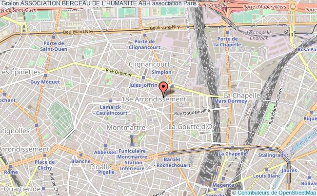 plan association Association Berceau De L'humanite Abh