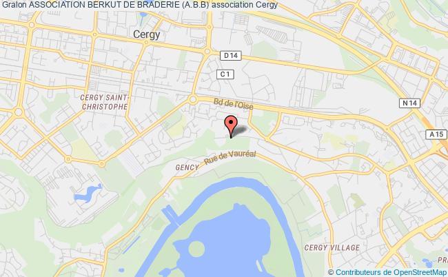 plan association Association Berkut De Braderie (a.b.b) Cergy
