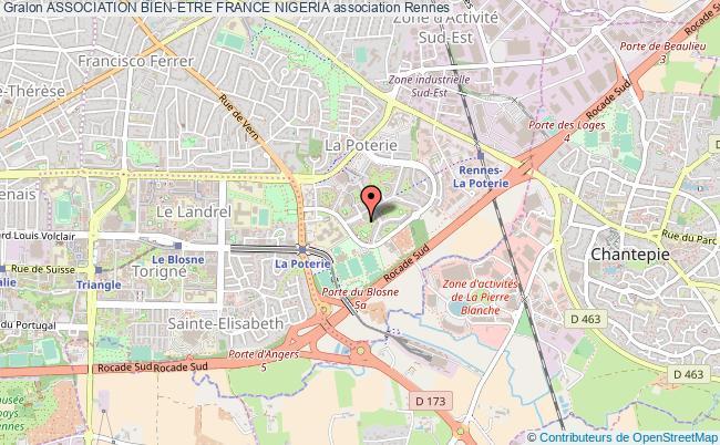 plan association Association Bien-etre France Nigeria Rennes