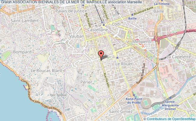 plan association Association Biennales De La Mer De Marseille