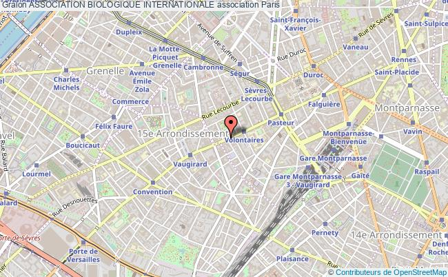 plan association Association Biologique Internationale Paris