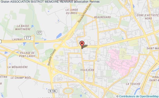 plan association Association Bistrot Memoire Rennais Rennes