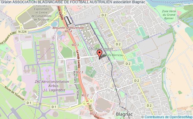 plan association Association Blagnacaise De Football Australien
