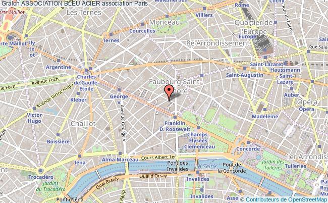 plan association Association Bleu Acier