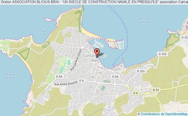 plan association Association Blious-brai - 'un Siecle De Construction Navale En Presqu'Île'