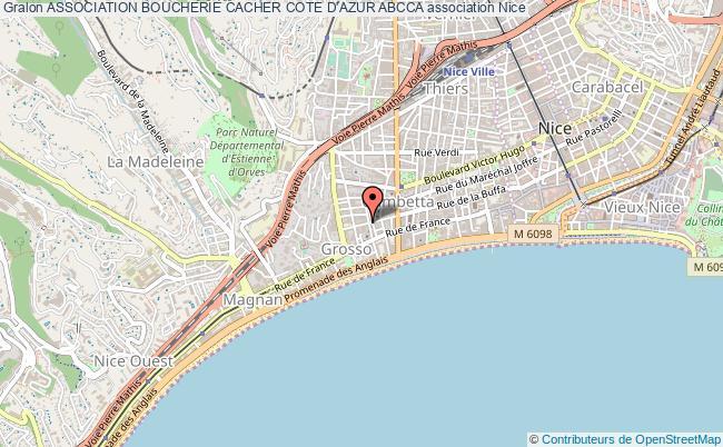 plan association Association Boucherie Cacher Cote D'azur Abcca
