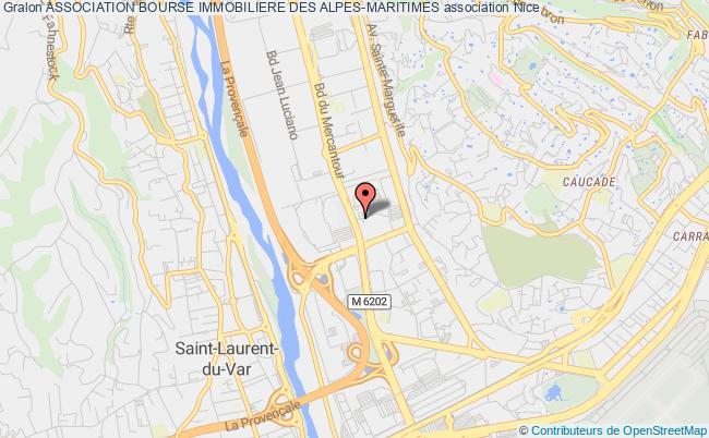 plan association Association Bourse Immobiliere Des Alpes-maritimes Nice