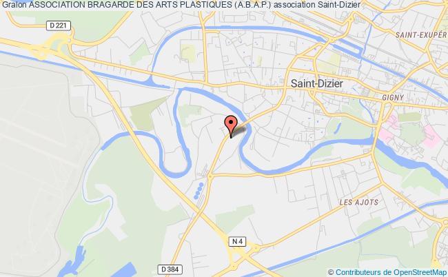 plan association Association Bragarde Des Arts Plastiques (a.b.a.p.) Saint-Dizier