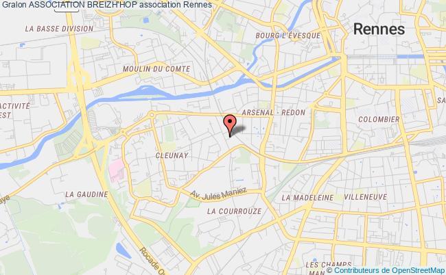 plan association Association Breizh'hop Rennes