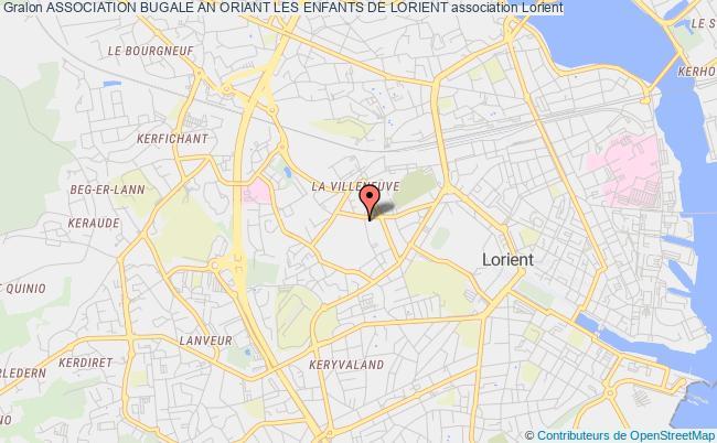 plan association Association Bugale An Oriant Les Enfants De Lorient