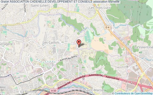 plan association Association Cadenelle Developpement Et Conseils Marseille