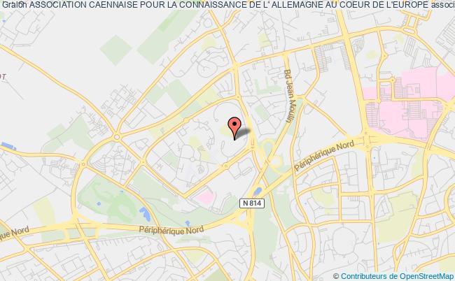 plan association Association Caennaise Pour La Connaissance De L' Allemagne Au Coeur De L'europe Caen