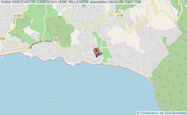 plan association Association Cameroun 3eme Millenaire Hérouville-Saint-Clair