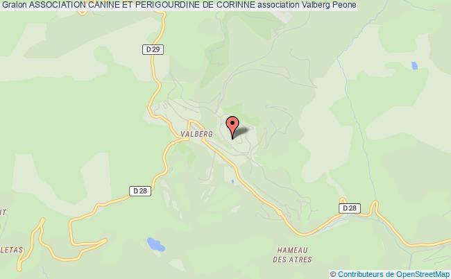 plan association Association Canine Et Perigourdine De Corinne