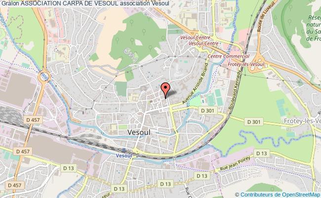 plan association Association Carpa De Vesoul Vesoul
