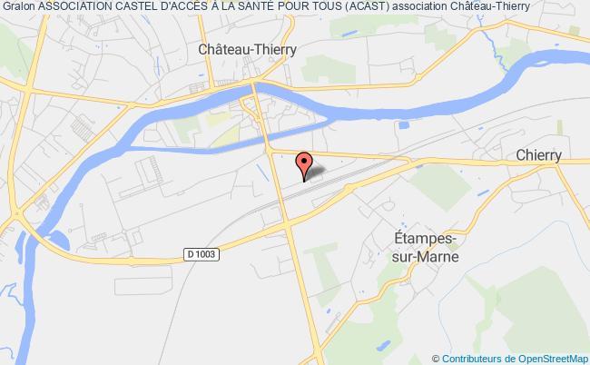 plan association Association Castel D'accÈs À La SantÉ Pour Tous (acast)