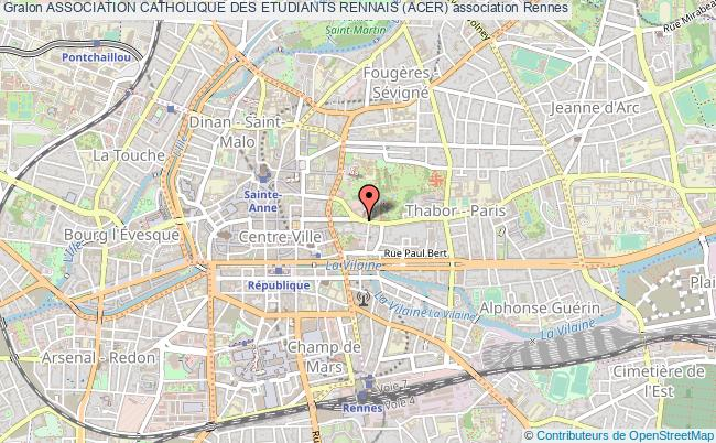 ASSOCIATION CATHOLIQUE DES ETUDIANTS RENNAIS (ACER)