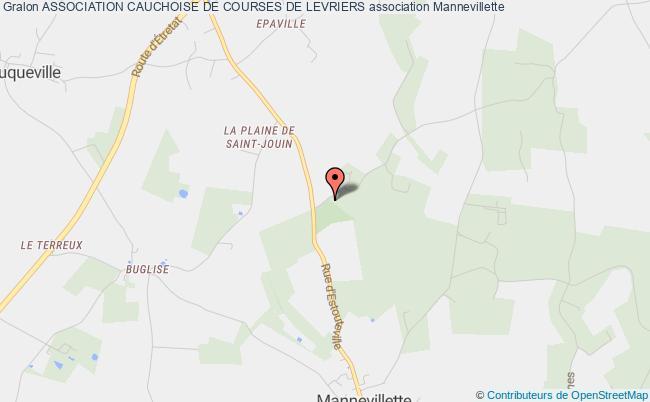 plan association Association Cauchoise De Courses De Levriers Mannevillette