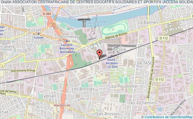 plan association Association Centrafricaine De Centres Educatifs Solidaires Et Sportifs (access Solidarite)