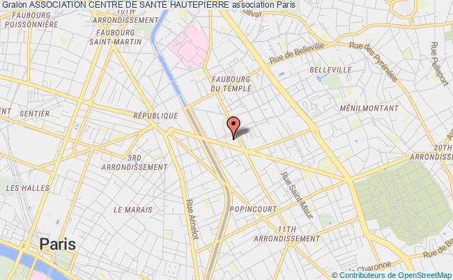 plan association Association Centre De SantÉ Hautepierre