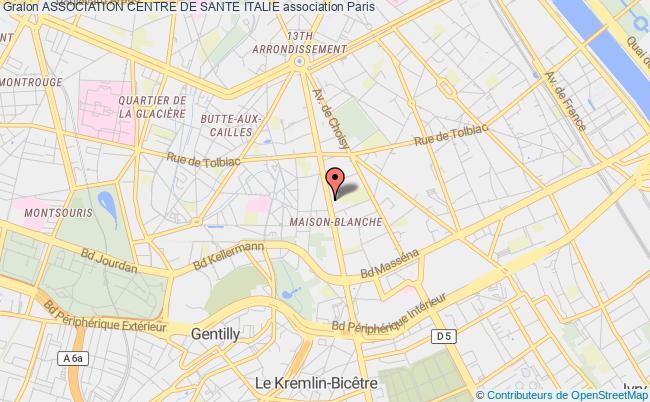 plan association Association Centre De Sante Italie