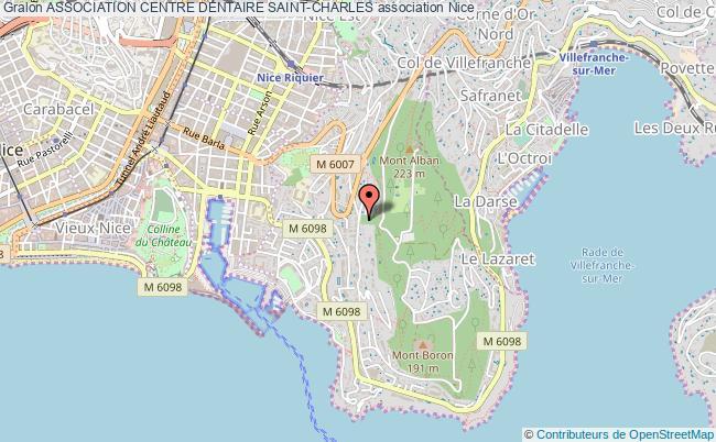 plan association Association Centre Dentaire Saint-charles Nice