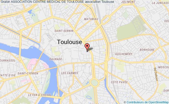 plan association Association Centre Medical De Toulouse