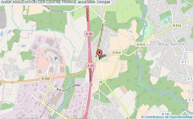 plan association Association Cer Centre France