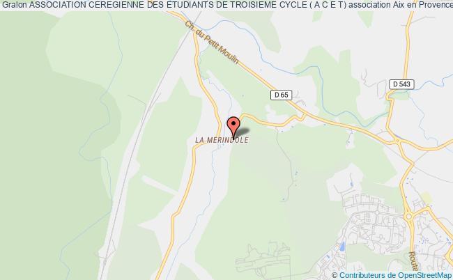 plan association Association Ceregienne Des Etudiants De Troisieme Cycle ( A C E T)