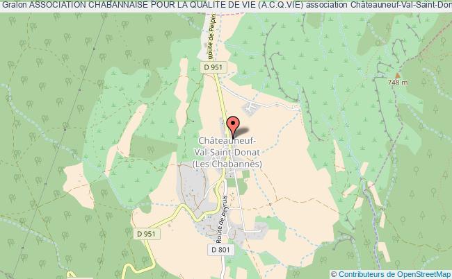 plan association Association Chabannaise Pour La Qualite De Vie (a.c.q.vie)