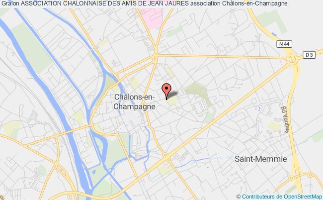 plan association Association Chalonnaise Des Amis De Jean Jaures