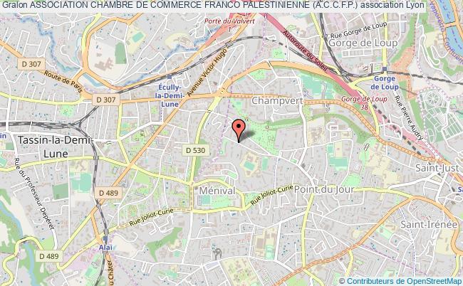 plan association Association Chambre De Commerce Franco Palestinienne (a.c.c.f.p.)