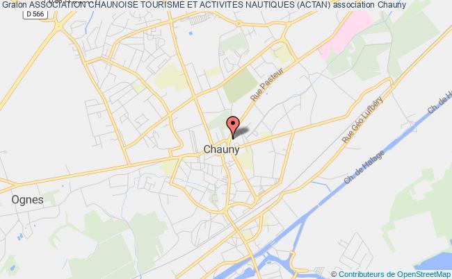 plan association Association Chaunoise Tourisme Et Activites Nautiques (actan)