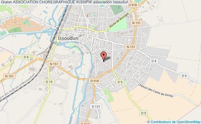 plan association Association Choregraphique Kissipik Issoudun