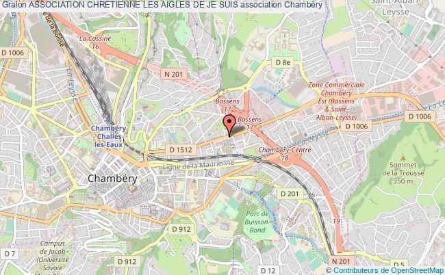 plan association Association Chretienne Les Aigles De Je Suis