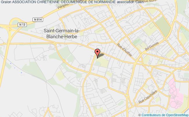 plan association Association Chretienne Oecumenique De Normandie