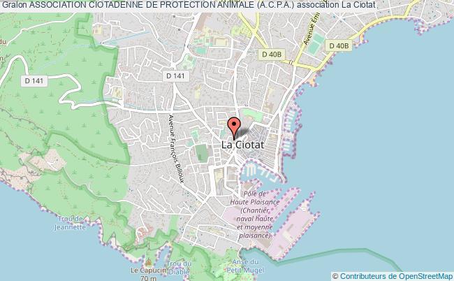 plan association Association Ciotadenne De Protection Animale (a.c.p.a.)