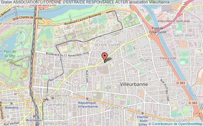 plan association Association Citoyenne D'entraide Responsable Acter
