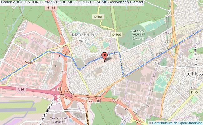 plan association Association Clamartoise Multisports (acms)