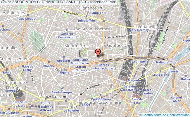 plan association Association Clignancourt Sante (acs)