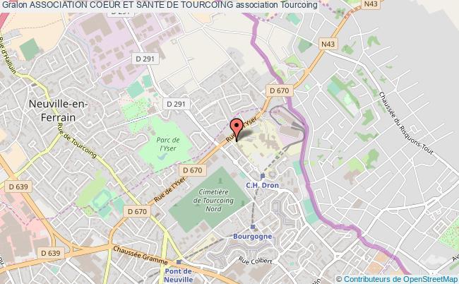 plan association Association Coeur Et Sante De Tourcoing