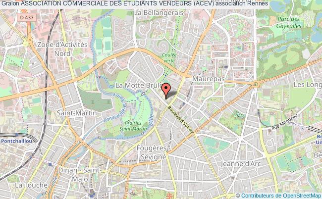 plan association Association Commerciale Des Etudiants Vendeurs (acev)