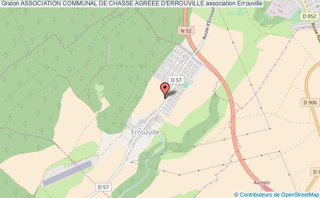 plan association Association Communal De Chasse AgrÉee D'errouville