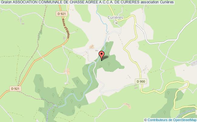 plan association Association Communale De Chasse Agree A.c.c.a. De Curieres
